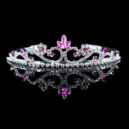 Pink Crystal Tiara Ebay