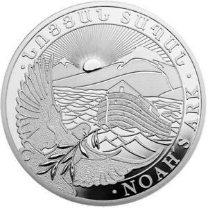 "Republic of Armenia ""Noah's Ark"" 10 oz Silver Coin - .999 Fine"