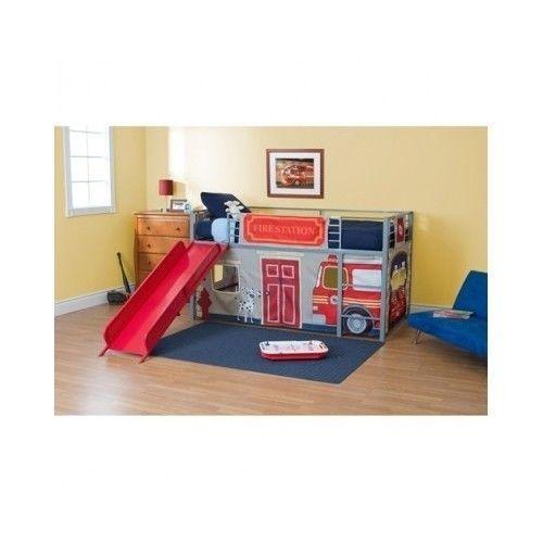 Fire Truck Toddler Bed | eBay