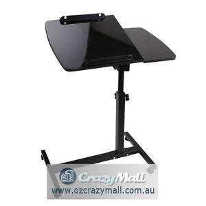 Adjustable Mobile Notebook Laptop Desk Black/White Melbourne CBD Melbourne City Preview