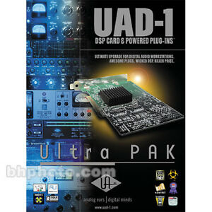 UAD-1  PCI SOUNDCARD  WITH  30 UAD PLUGINS