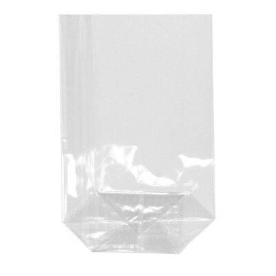 300 transparente Bodenbeutel PP 15 cm x 10 cm Cellophanbeutel Zellglasbeutel