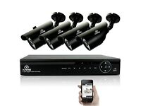 Kare CCTV system with DVR recorder & 4 x Infra-Red cameras (Unused in box - RRP £117.99)