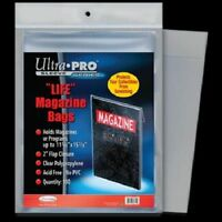 Ultra Pro LIFE MAGAZINE .... BAGS .... package of 100