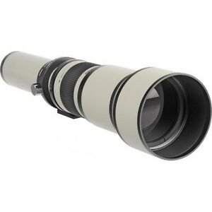 Bower 650-1300mm f/8-16 Manual Focus T-Mount Lens NEW