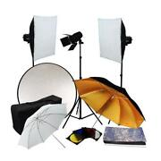 Photo Studio Flash Kit