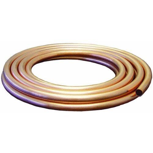 """MUELLER INDUSTRIES GIDDS-203326 Copper Tubing Boxed, 1/2"""" Od x 25"""