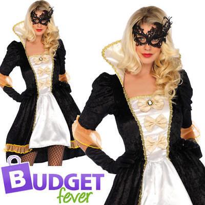 Marie Antoinette Ladies Fancy Dress Masquerade Wonderland Leg - Marie Antoinette Fancy Dress Kostüme