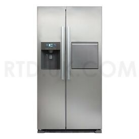 Brand new CDA PC70SC American style side by side fridge freezer