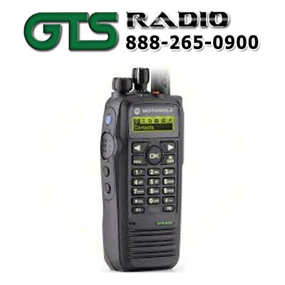 New Motorola Xpr6550 Uhf Two Way Radio Handheld Portable Mototrbo W Option Board