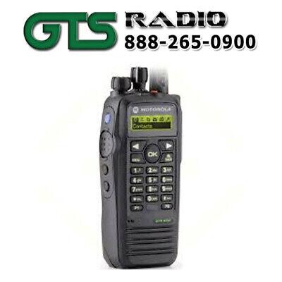 New Motorola Xpr6550 Uhf Two Way Radio Handheld Portable Mototrbo W Option Board