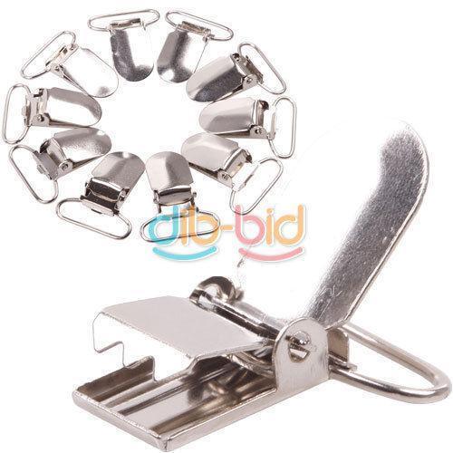 metal suspender clips ebay. Black Bedroom Furniture Sets. Home Design Ideas