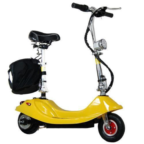 Folding electric scooter ebay for Folding motorized scooter for adults