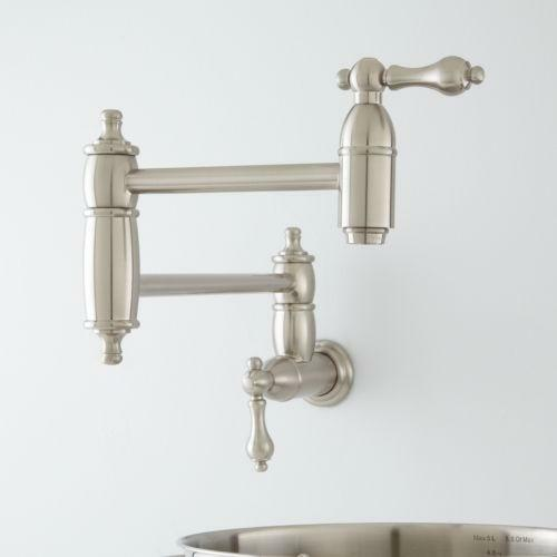 Brushed Nickel Pot Filler Ebay