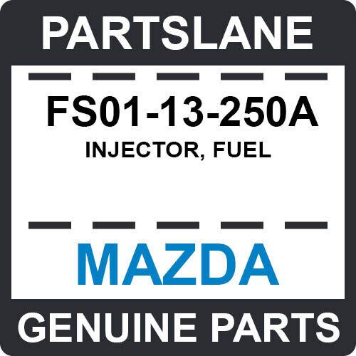 Fs01-13-250a Mazda Oem Genuine Injector, Fuel