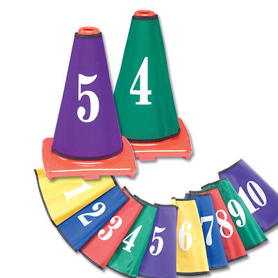 Color My Class Cone Covers Numbers -
