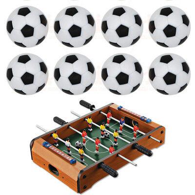 10pcs 32mm Plastic Soccer Table Foosball Ball Football Fussball   PR