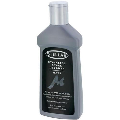 Stainless Steel Cleaner For Use On Matt / Brushed Surfaces & Cookware Stellar