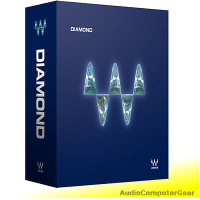 Waves DIAMOND Bundle Audio Software Effects Plug-ins NEW Waves Plug Ins