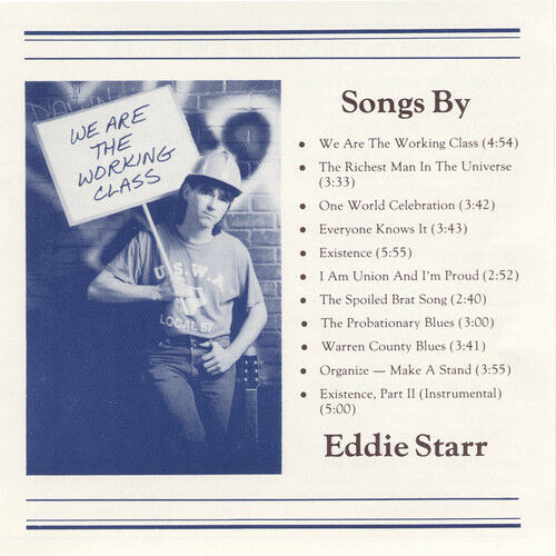 Eddie Starr - We Are The Working Class [new Cd]