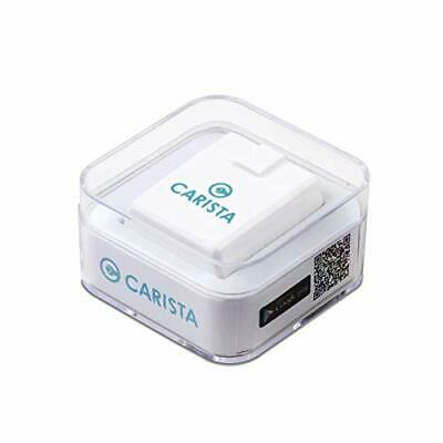 Carista OBD2 Adaptador Bluetooth y App: Diagnostico, Personalización y