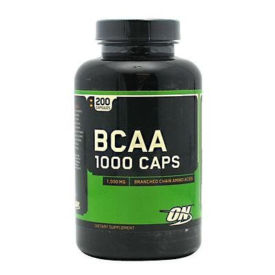 Optimum Nutrition BCAA 1000mg Amino Acids - 200 Capsules