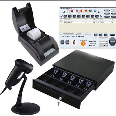 Pos All-in-one Solution Point Of Sale System Combo Kit Vape Shop Liquor Store