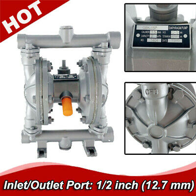 12gpm Double Diaphragm Transfer Pump Air-operated Pneumatic12 Inlet And Outlet
