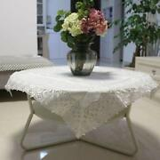 Square Lace Tablecloth