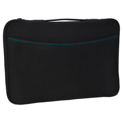 Logitech Black Portable Laptop Notebook Sleeve Case Cover Fo