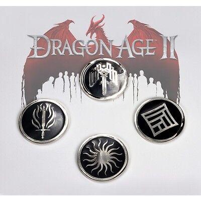 NEW Dragon Age II Coaster Set collectible