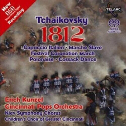 Erich Kunzel - 1812 [New SACD] Hybrid SACD, Rmst