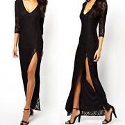 Lace Side Dress