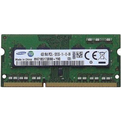 Samsung 1.35V DDR3 Low Voltage 4GB PC3-12800 1600 Mhz Laptop Sodimm Memory Ram