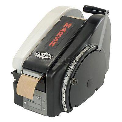 Marsh Td2100 Manual Hand Taper Paper Water Activated Tape Dispenser Tdh