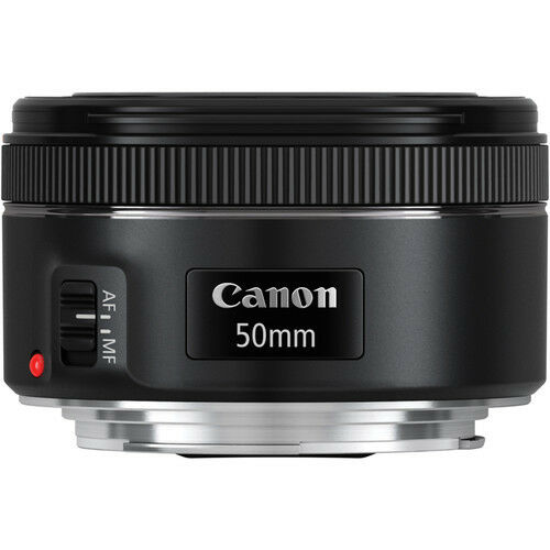 Canon EF 50mm f/1.8 STM Lens For Canon DSLR Cameras