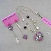 Betsey Johnson Jewelry Set