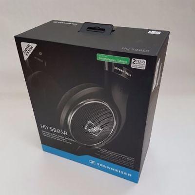 Sennheiser HD 598SR Over-Ear Headphone with Smart Remote - Black RRP NEW