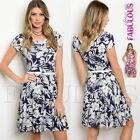 Short Sleeve Formal Dresses Skater Dresses