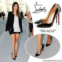 Christian Louboutin -BRAND NEW Pigalle Leather Pumps - Size 5.5