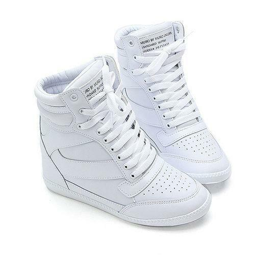 White Platform Sneakers: Women's Shoes | eBay