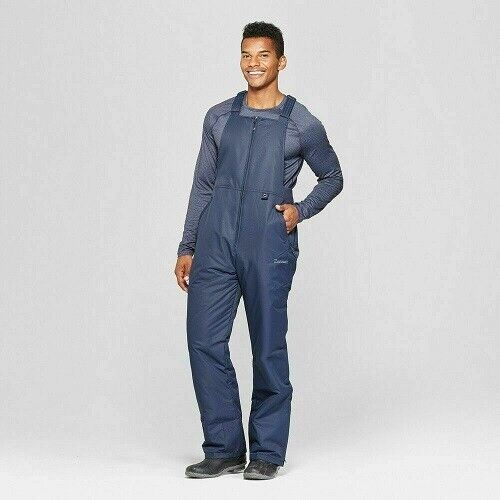 Men's Insulated Snow Bib Overall – Zermatt Blue Night Small NWT Clothing