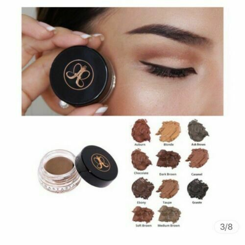 Anastasia Beverly Hills Dipbrow Pomade FREE Duo Brush #12 Eye Brow Makeup US