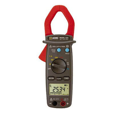 Aemc 514 1000a Acdc 600v Acdc For Clamp-on Meter 514 211770