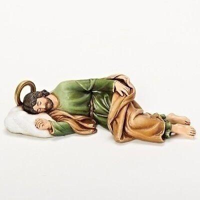 Sleeping St. Joseph Collectible Figurine 8.25