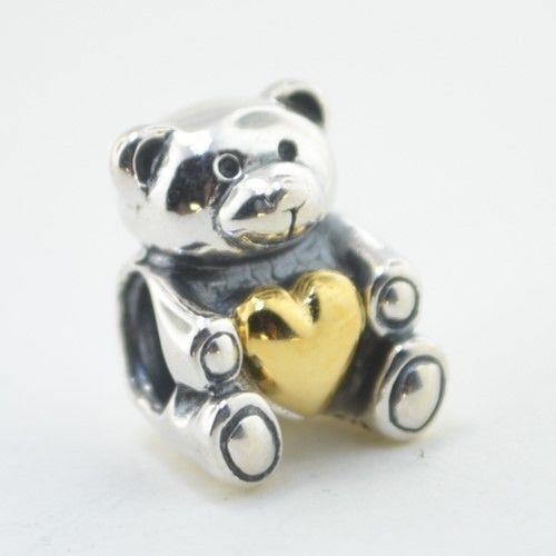 Pandora Teddy Bear Charm Ebay