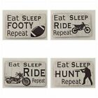 Motorbike Decorative Plaques & Signs