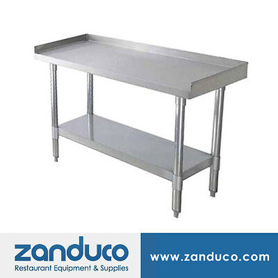Zanduco Stainless Steel 30 X 48 Commercial Equipment Stand And Undershelf Nsf