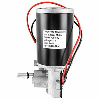 High Quality Torque Reversible Worm Gear Motor Dc24v 80w 160rpm Gearbox Motor