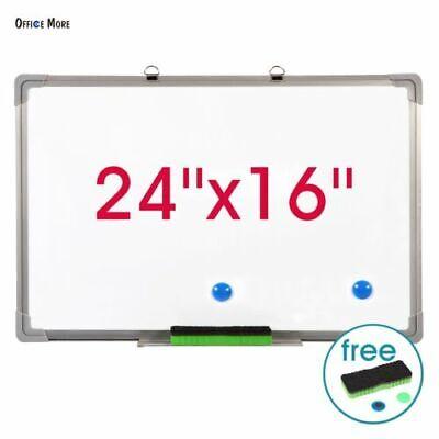 Office Single Side Magnetic Whiteboard Eraser Marker Pen 24x16 Dry-erase Wboard